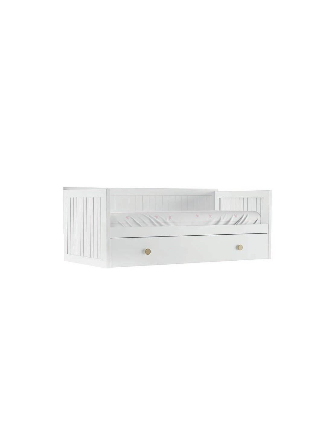 Comprar cama nido lacada tienda muebles online - Cama nido economica ...