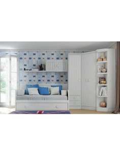 Dormitorio Juvenil Moderno modelo Madrid