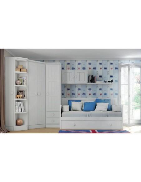 Dormitorio Juvenil armario Madrid