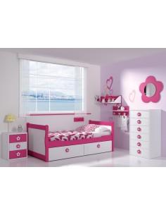 Dormitorio Gondola Flor