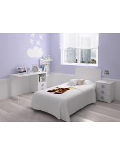 Dormitorio básico blanco