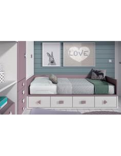 Comprar online dormitorios juveniles tienda muebles for Dormitorios juveniles a medida