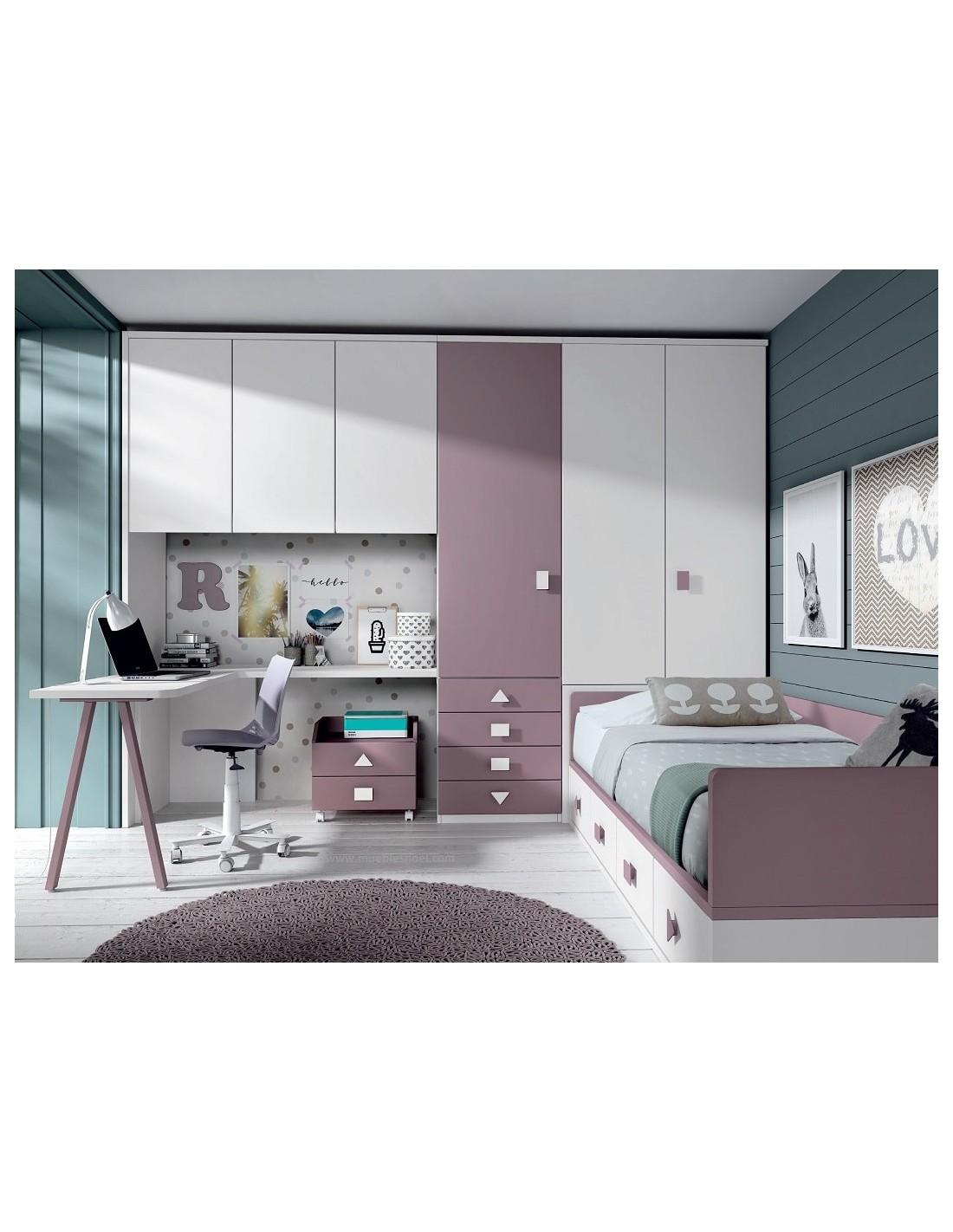 Comprar dormitorio juvenil a medida tienda muebles - Dormitorios juveniles hechos a medida ...
