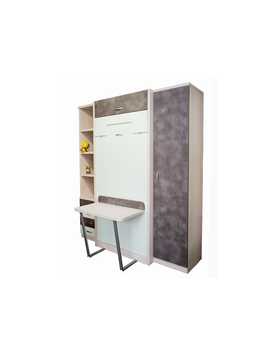 Literas abatibles verticales livemar solutions muebles noel madrid - Muebles literas abatibles ...
