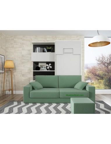 Litera Vertical con Sofa y Libreria