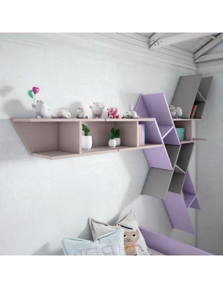 Dormitorio Juvenil Violeta Madrid