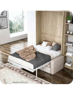 Cama abatible matrimonio con sofa