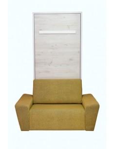 litera vertical con sofá