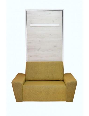 litera vertical con sofa delante