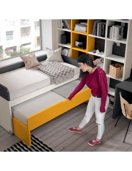 Dormitorio cama supletoria