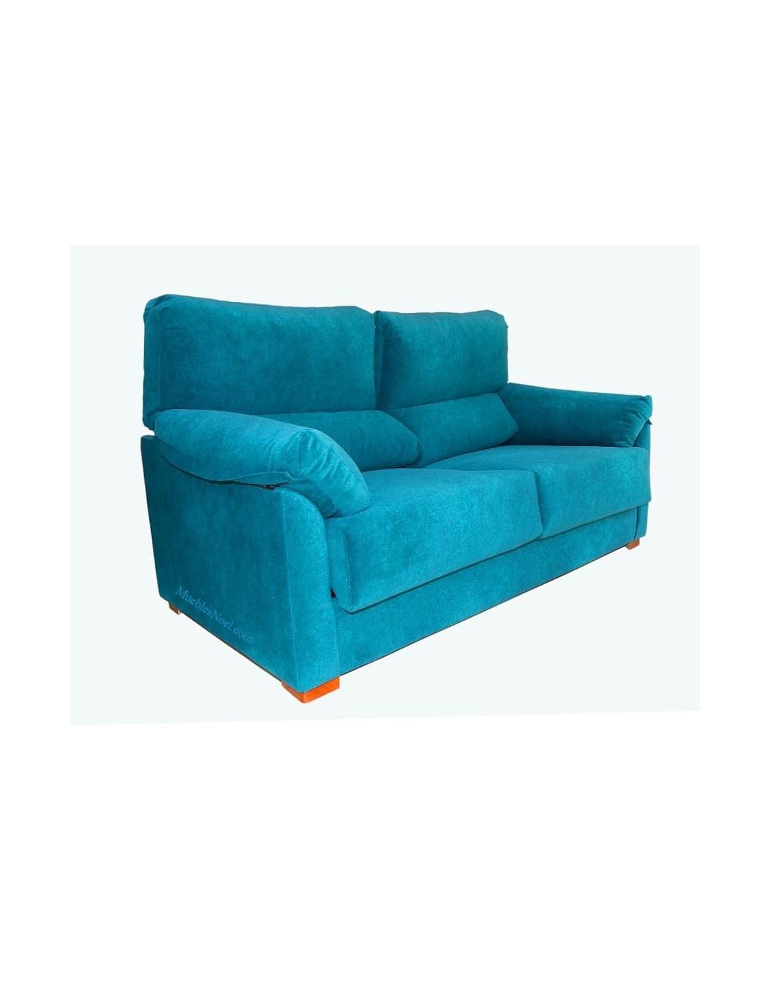 Sofá azul bueno y barato