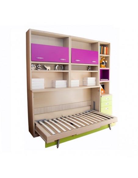 Composición 16 de Livemar con la cama abatible abierta