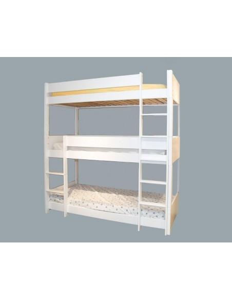 Triplelit Litera con 3 camas.