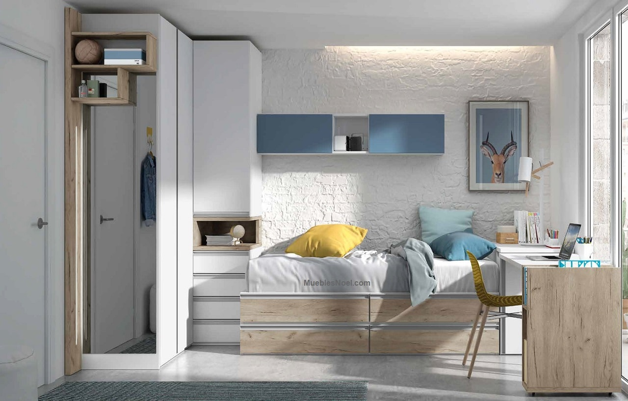 Dormitorio juvenil Vista Alegre